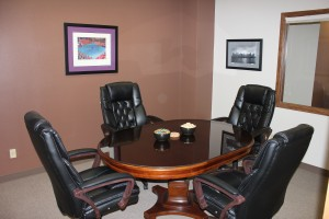 Conference room available for mediation or arbitration.